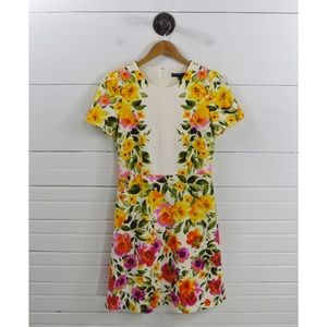 MAGGY LONDON FLORAL DRESS #137-23